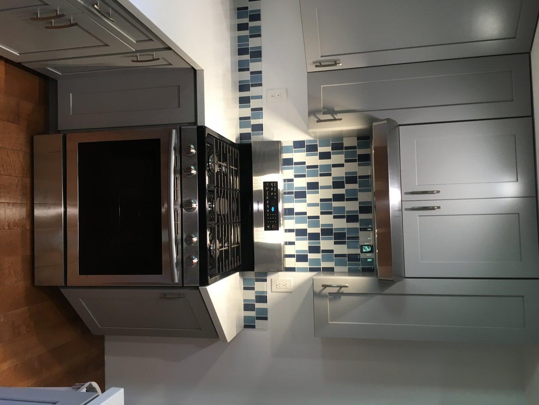 Countertops, Sink, Backsplash, Undercabinet Lighting - All Done