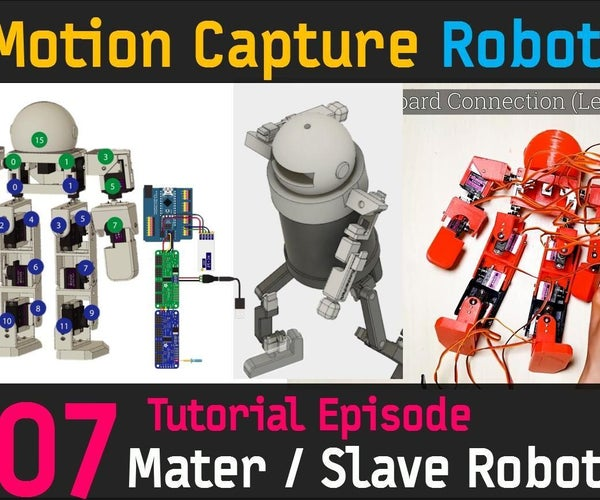 CHOOM [FINAL] Slave Robot Circuit Connection, Building Master Robot