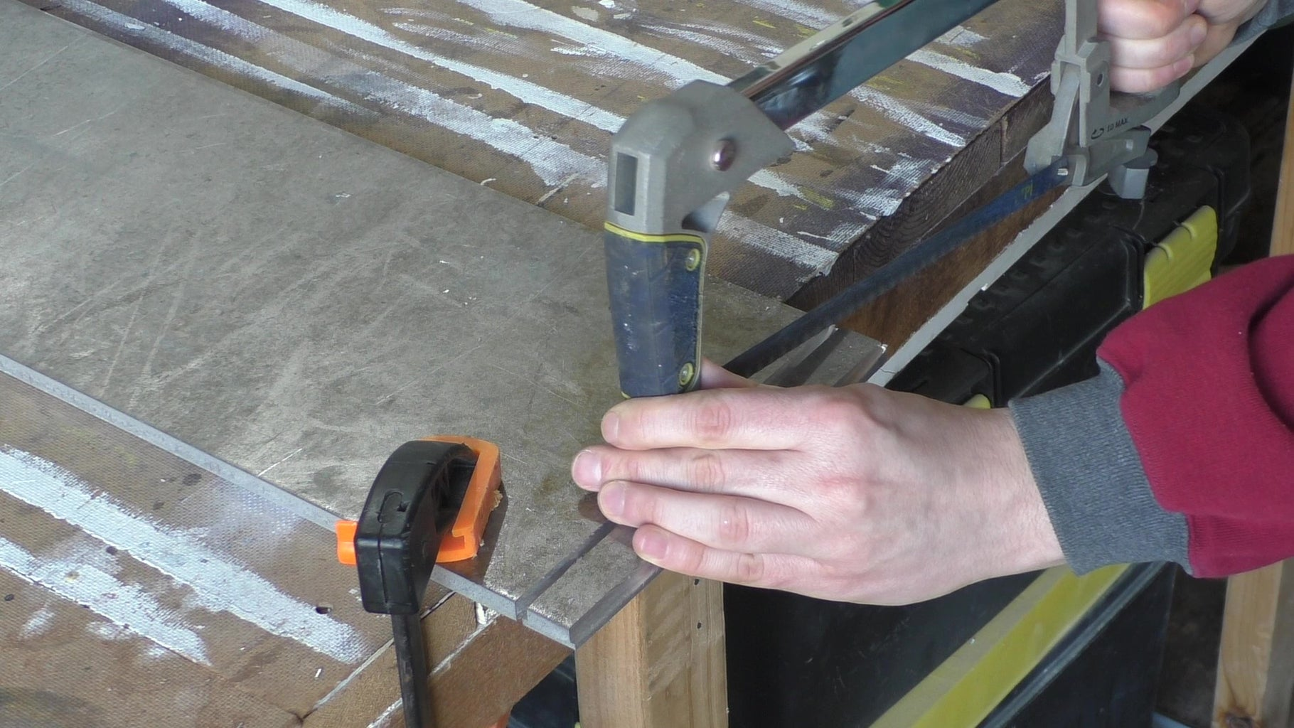 Cut the T-Nut Blank