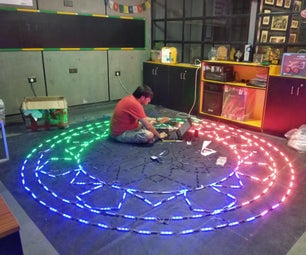 LED MANDALA Installation
