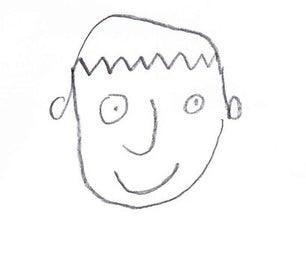 "Draw a ""dojob"" Face (Easy Drawing Method)"