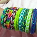 Rainbow Loom Fishtail Braid Bracelet