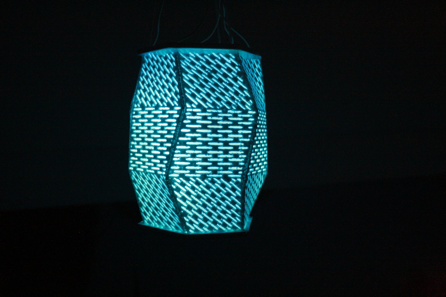 Twisted Prism Lanterns