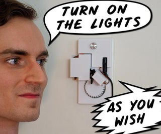 Roboticized Light Switch for Home Automation