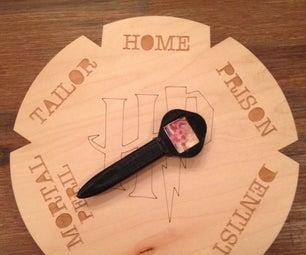 Functional Weasley Clock (IOT Location Tracker)