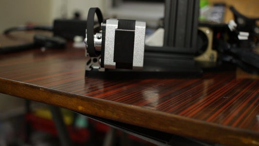 The Y Axis Assembly