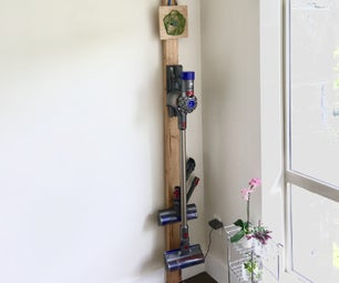 Wall Mount Dyson Cordless Vacuum