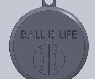Ball Is Life Ornament