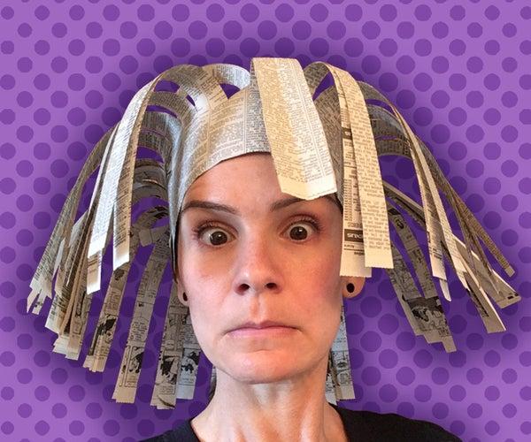 Medusa Paper Hat