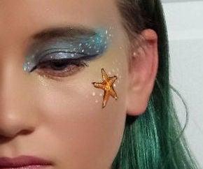 Mermaid Hair and Make-Up