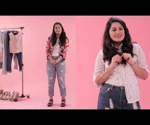 3 Ways to Wear a Lace Shirt