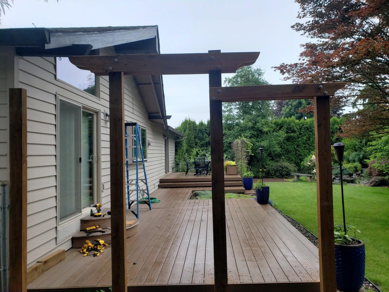 Swing Arbor Board Installation Part 3