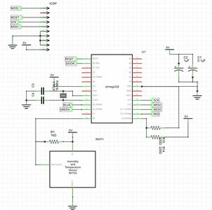 Schematic Μc/Sensor