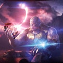 Make Thanos Holds an Anime Girl🚀💛)