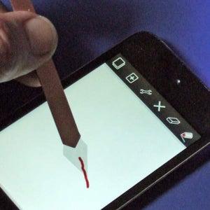 Make a Transparent Paint Brush Stylus