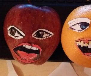 MakeyMakey: Annoying Orange