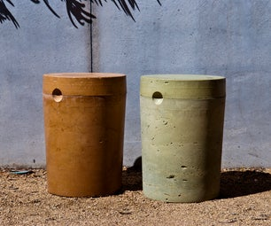 DIY CONCRETE:: 5 Gallon Stool