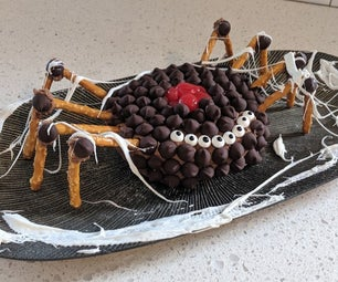 Spooky Spider Chocolate Cheese Ball