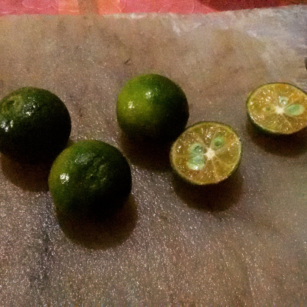STEP 2: Prepare Thy Puckers. Limes & Mashing!