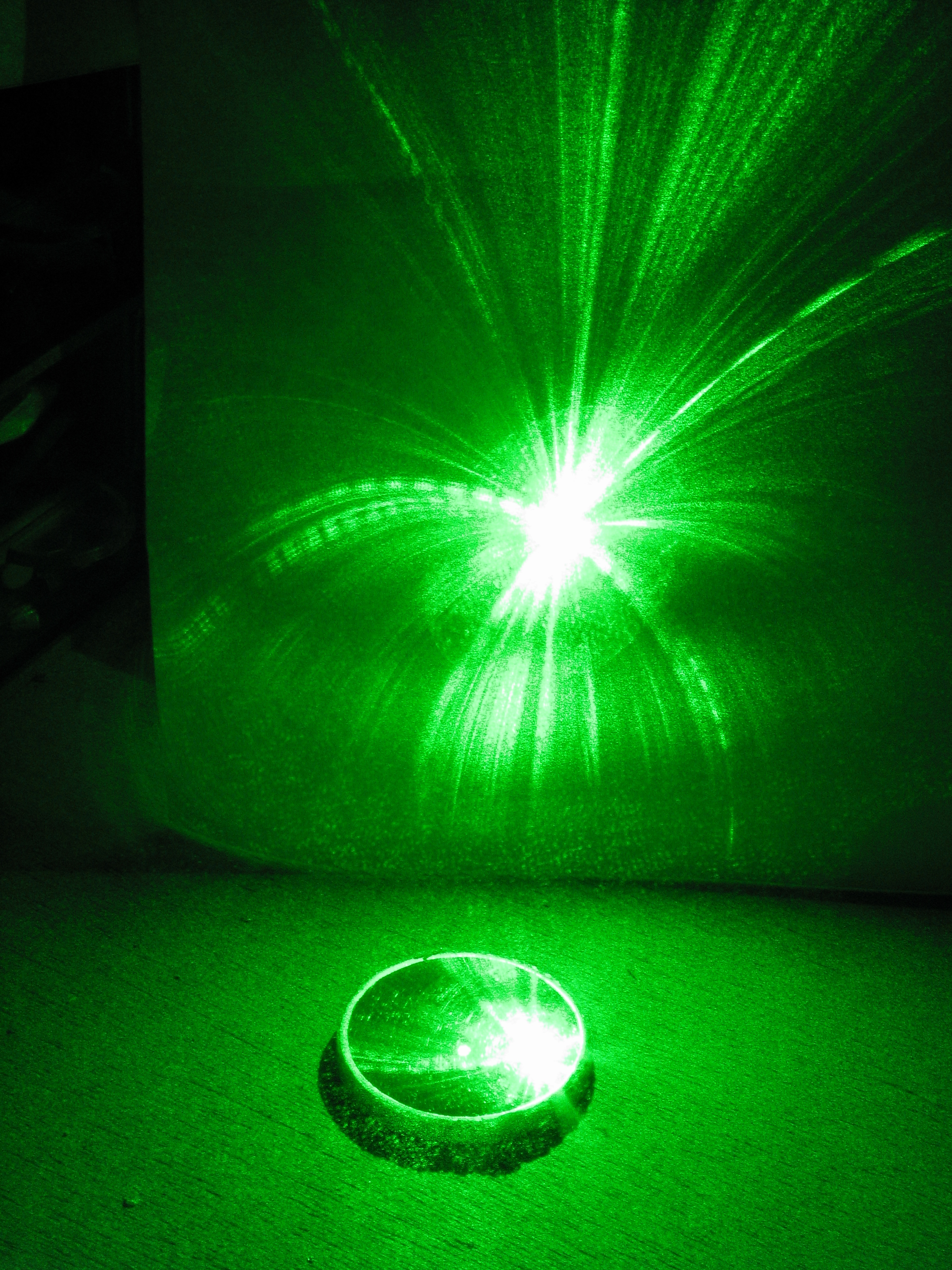 Get Your Laser Pointer 'Spot On'.