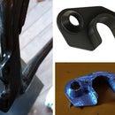 Repair Carbon Fiber Bicycle Frame - CNC Made Insert