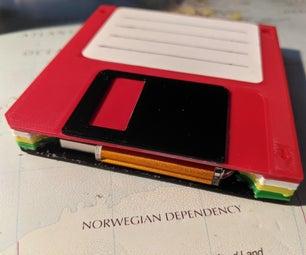 3.5 Inch Floppy Disk USB Holder