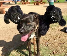 "Cerberus Aka. ""Fluffy"" Costume for Your Dog"
