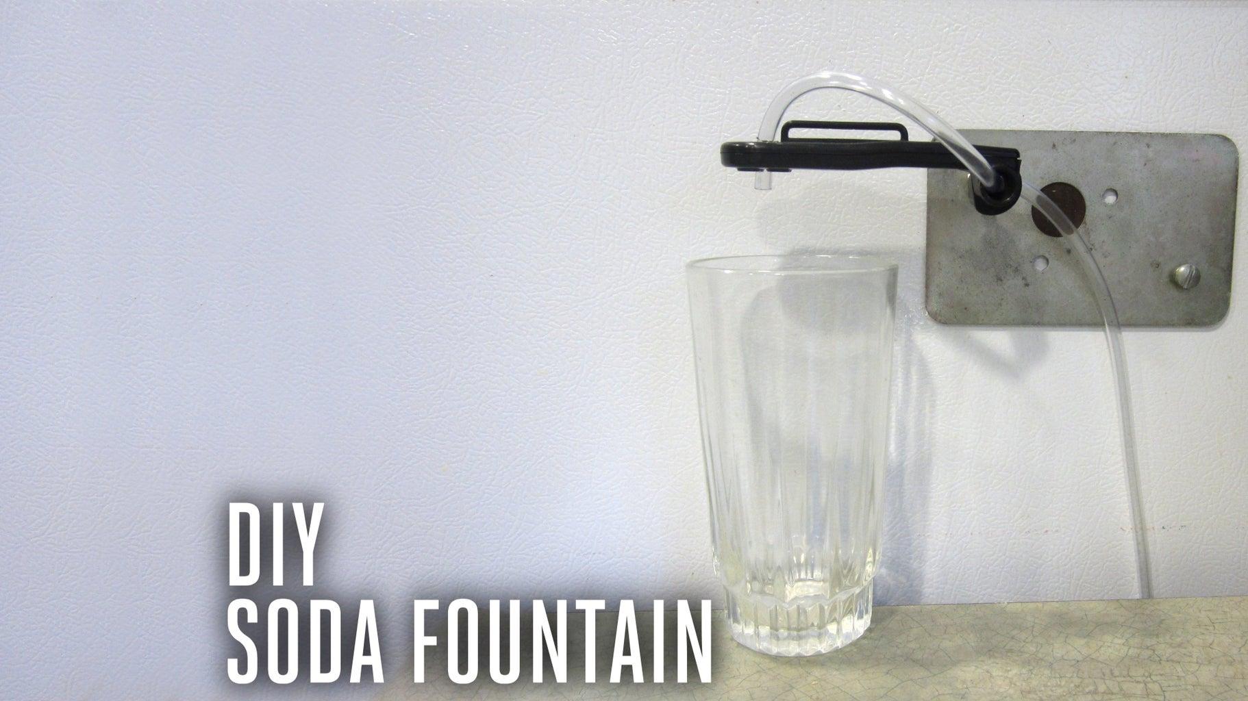 Mini Fridge Soda Fountain