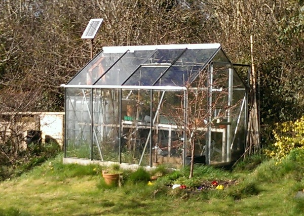Automatic Solar Powered Greenhouse Watering System