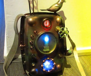 Steampunk Backpack for the Poor.