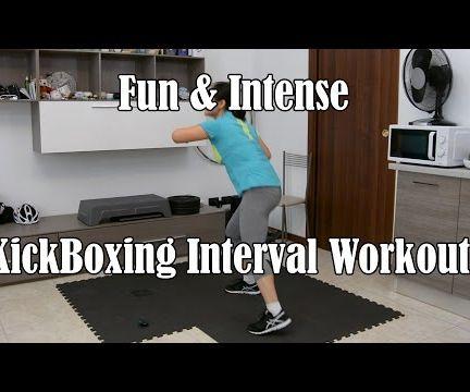 Fun & Intense Kickboxing Plyo Workout