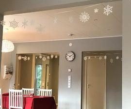 Snowflakes Garland