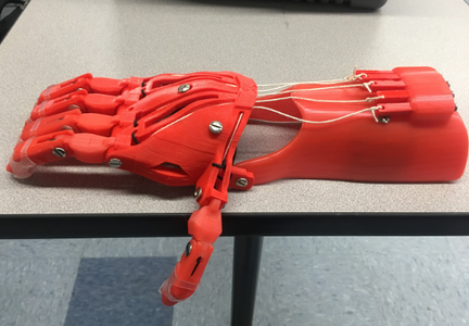 Making Prosthetic Hands at Home
