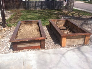 Raised Bed Planter Boxes