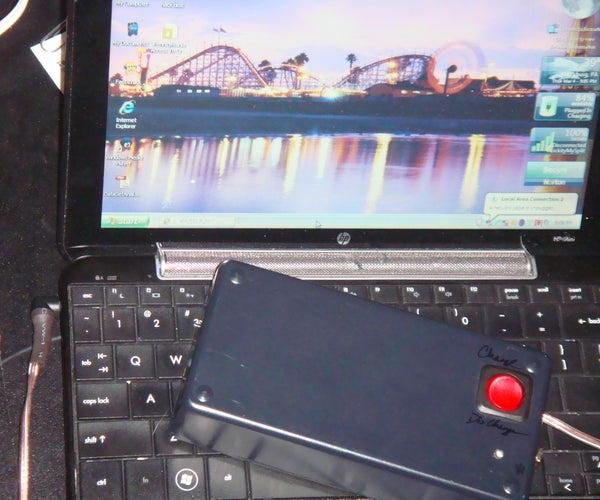 Solar Backup for HP Mini