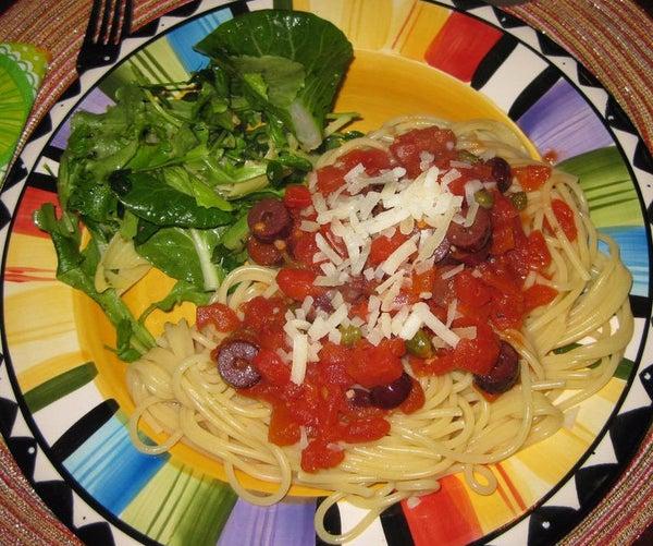Pasta Puttanesca (Hooker's Pasta)