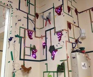 Create an Interactive Living Wall