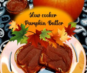 Slow Cooker Pumpkin Butter