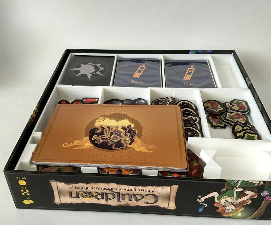 3D Printed Insert for Cauldron Board Game