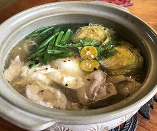 一锅亚洲面条汤