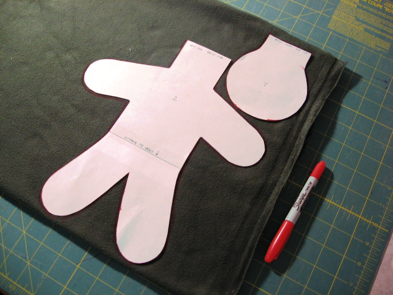 Trace Pattern and Cut Out Shapes