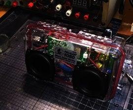 DIY Pelican 1050 Bluetooth Speaker Dayton Audio
