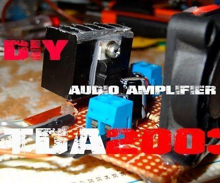 DIY:Powerful Audio Amplifier TDA200