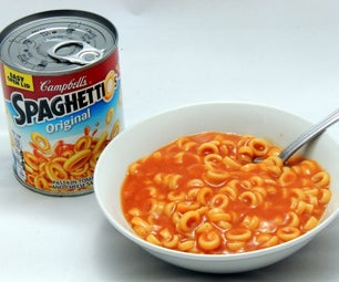 Homemade SpaghettiO's