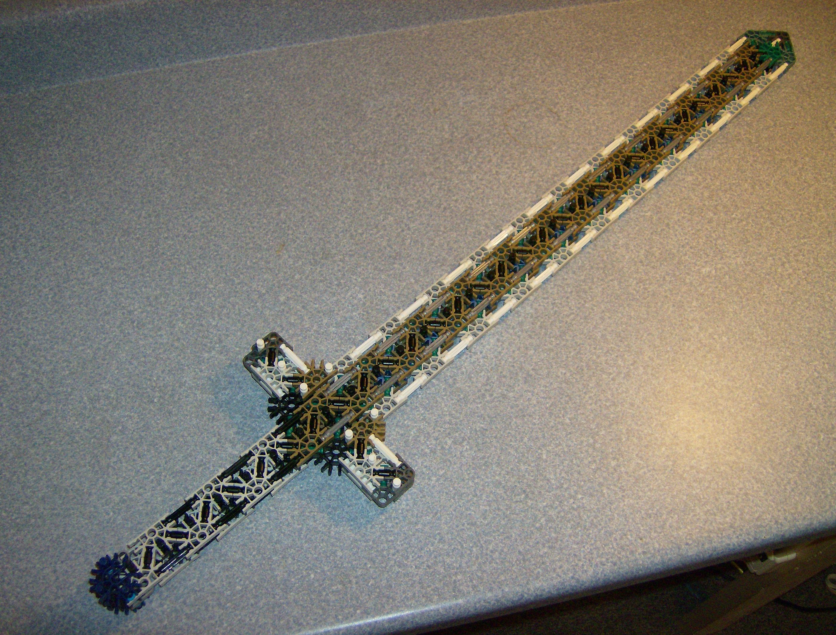 K'nex Medieval Broadsword