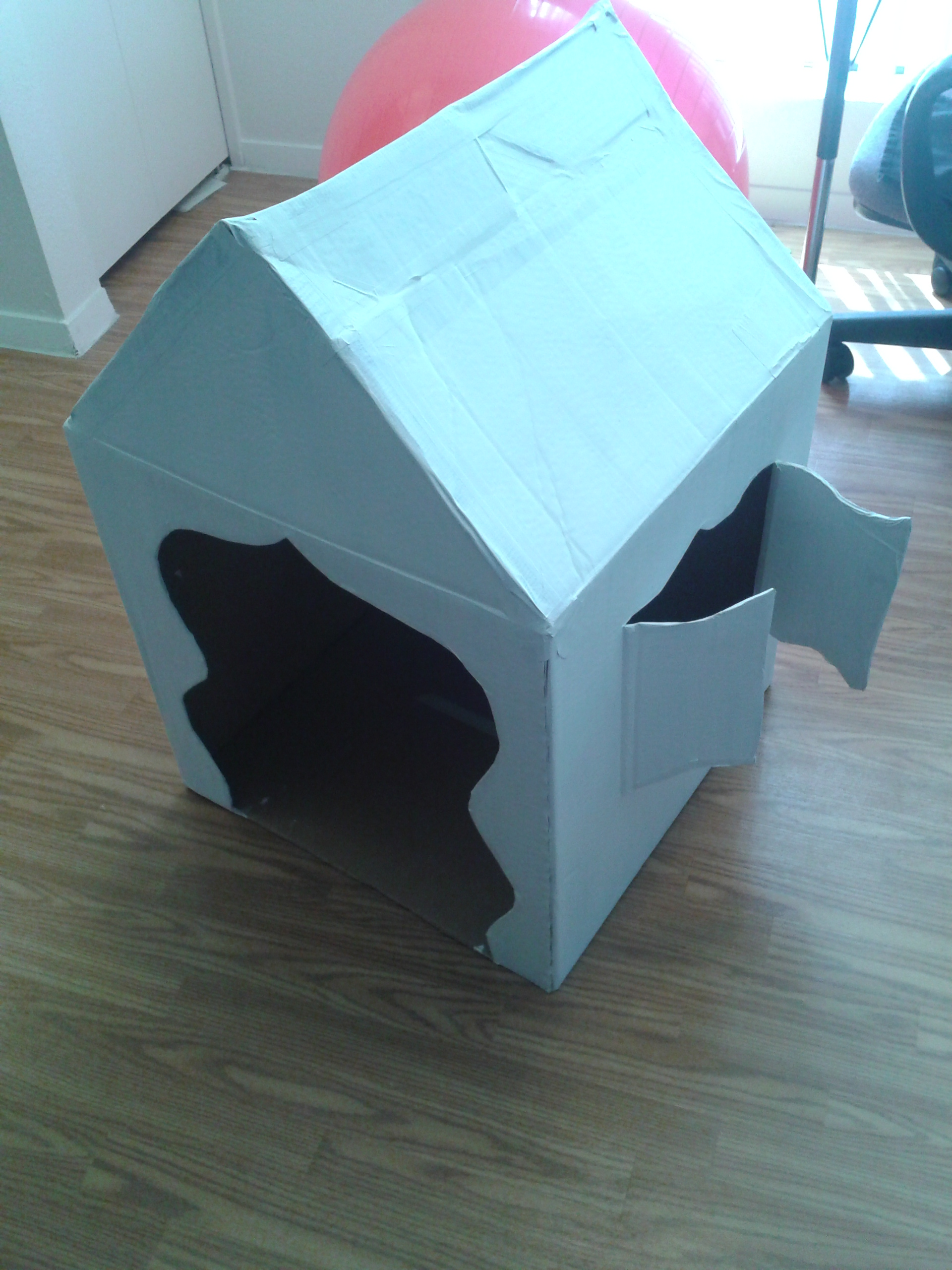 Kick Butt Cardboard Pet House (Easy-Hard up to you)