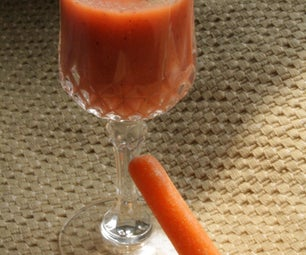 Carrot Smoothies