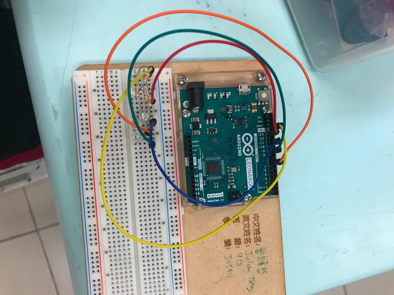 Follow the Instructions and Build Your Arduino Thingy