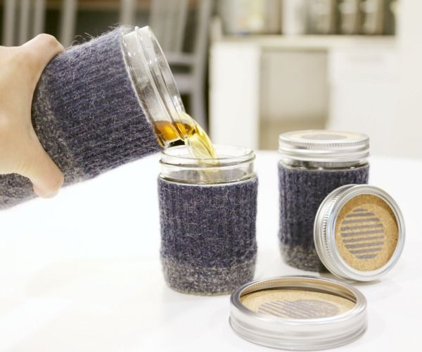 Mason Jar Tea Set