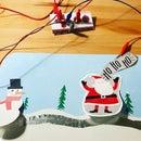 Holiday Makey Makey Door Display